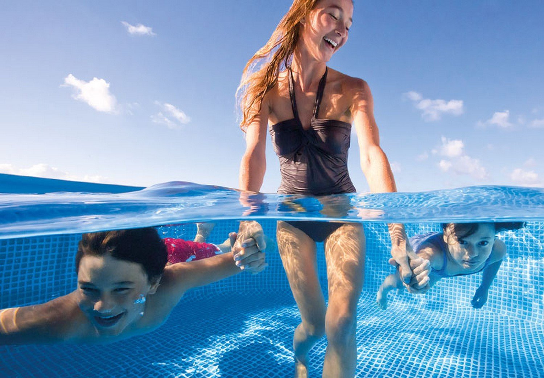 Schwimmingpool kaufen mit Kindern